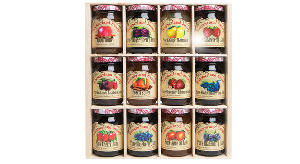 Gift Package #17: 12 - 125 ml Jams