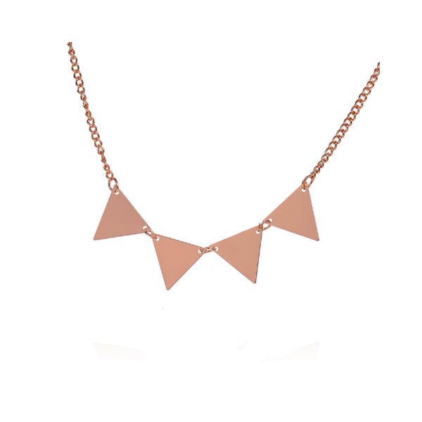 Golden Bunting Necklace