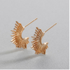 Gold Spike Earrings