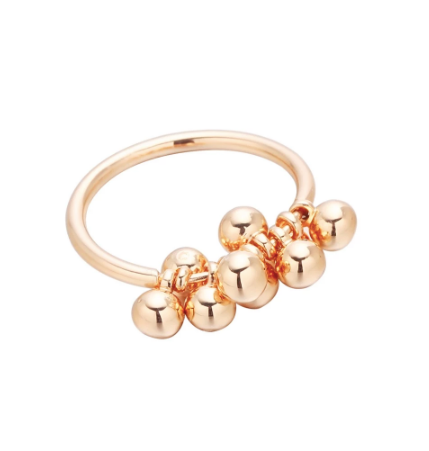Gold Multi Ball Ring