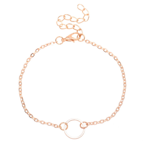 Small Open Circle Bracelet