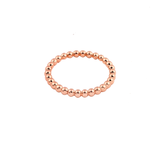 Rose Gold Circle Stacker