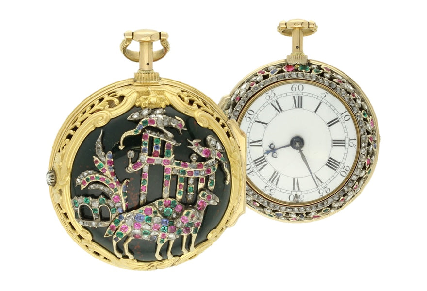 18th Century Chinese Market Pocket Watches and Francis Perigal