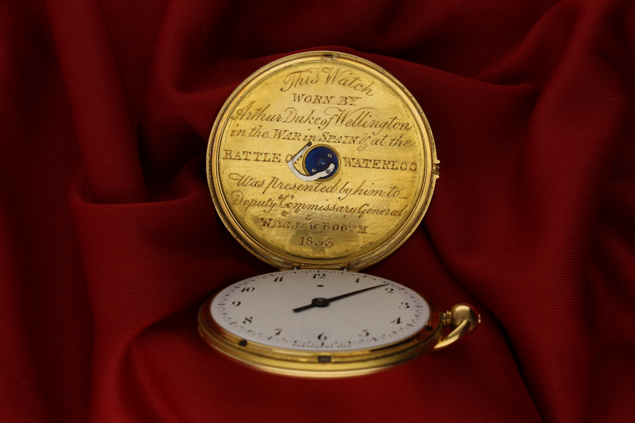 Montre à Tact pocket watch by Breguet, Purchased by the Duke of Wellington  and presented to Commissary General William Booth