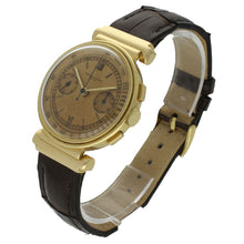 Load image into Gallery viewer, 18ct yellow gold chronograph wristwatch. Circa 1938