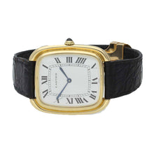 Load image into Gallery viewer, 18ct yellow gold Gondole wristwatch. Circa 1970