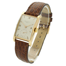Load image into Gallery viewer, 18ct rose gold, reference 1588 wristwatch. Made 1950