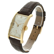 Load image into Gallery viewer, 18ct rose gold, reference 1593 wristwatch. Made 1951