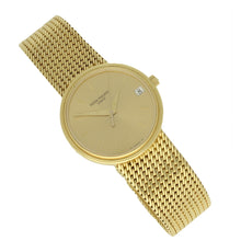 Load image into Gallery viewer, 18ct yellow gold, reference 3802/205 bracelet watch. Made 1997
