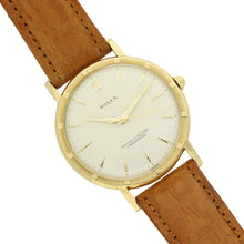 Load image into Gallery viewer, 18ct yellow gold, reference 8952 chronometer wristwatch. Circa 1955