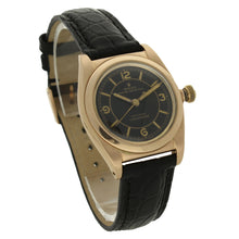Load image into Gallery viewer, 14ct rose gold, reference 3131 Oyster Perpetual Bubble Back wristwatch. Circa 1940