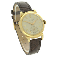 Load image into Gallery viewer, 18ct yellow gold, reference 1491 wristwatch. Made 1953