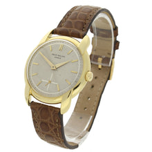 Load image into Gallery viewer, 18ct yellow gold, reference 2536 wristwatch. Made 1955