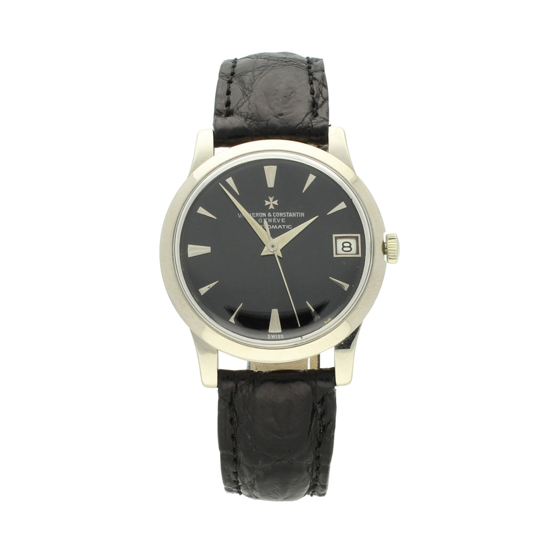 18ct white gold, reference 6378 automatic wristwatch. Circa 1950