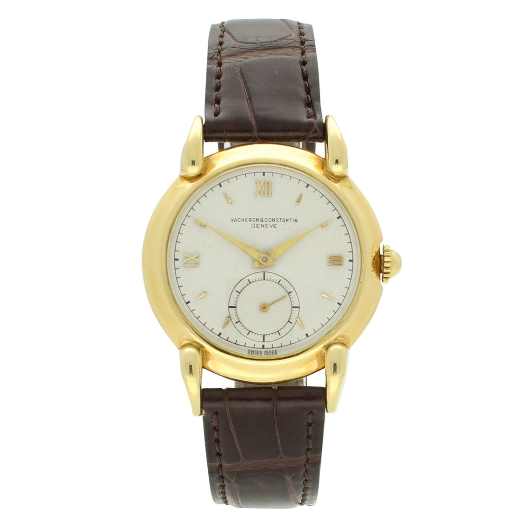 18ct yellow gold, reference 4418 wristwatch. Circa 1940