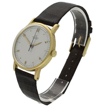 Load image into Gallery viewer, 18ct yellow gold Chronomètre wristwatch. Made 1946