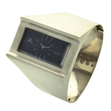 Load image into Gallery viewer, Silver 'Grima' De Ville bangle watch. Made 1972