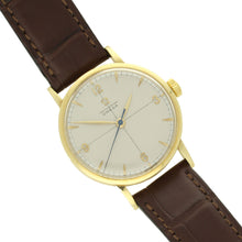 Load image into Gallery viewer, 18ct yellow gold Chronomètre wristwatch. Made 1947