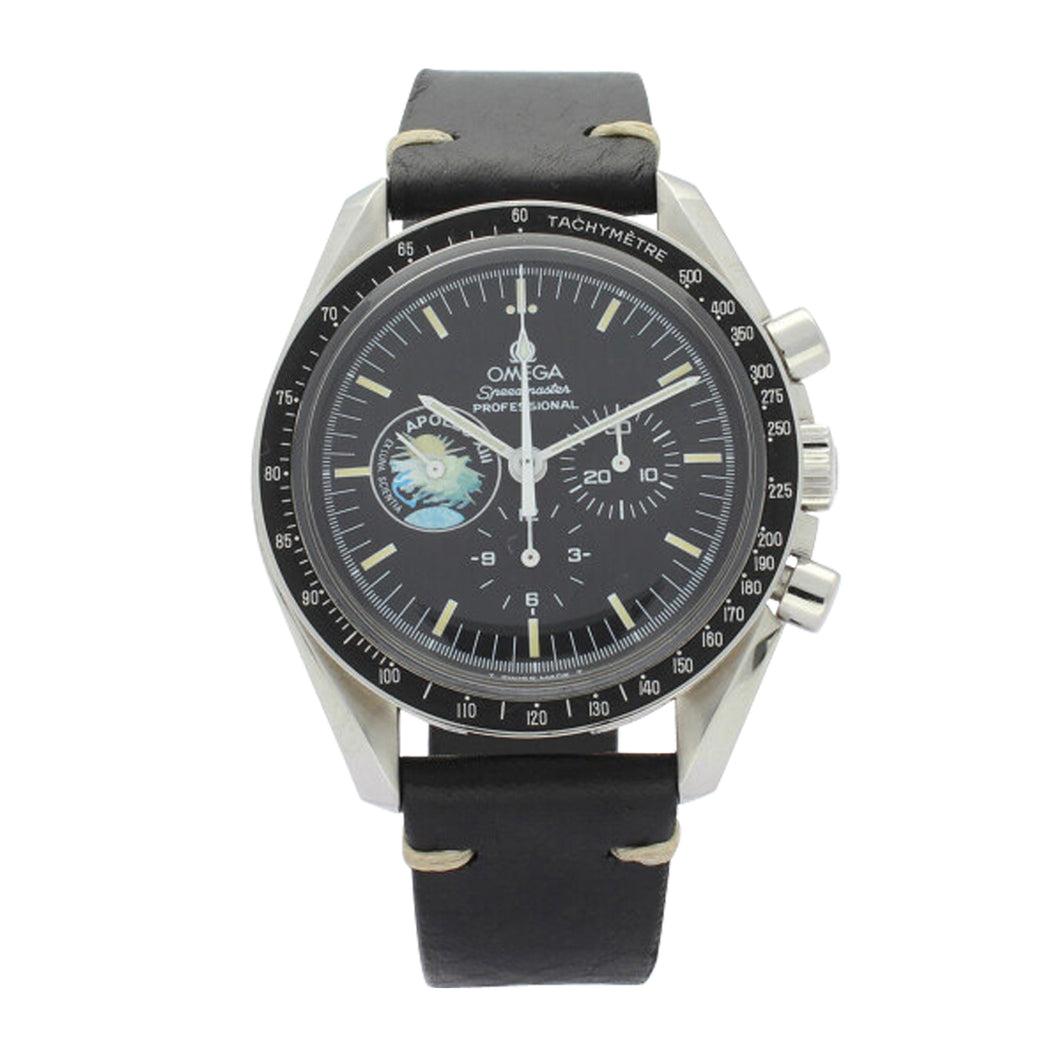 Stainless steel Speedmaster Apollo XIII Professional chronograph, limited edition 958/999. Made 1996