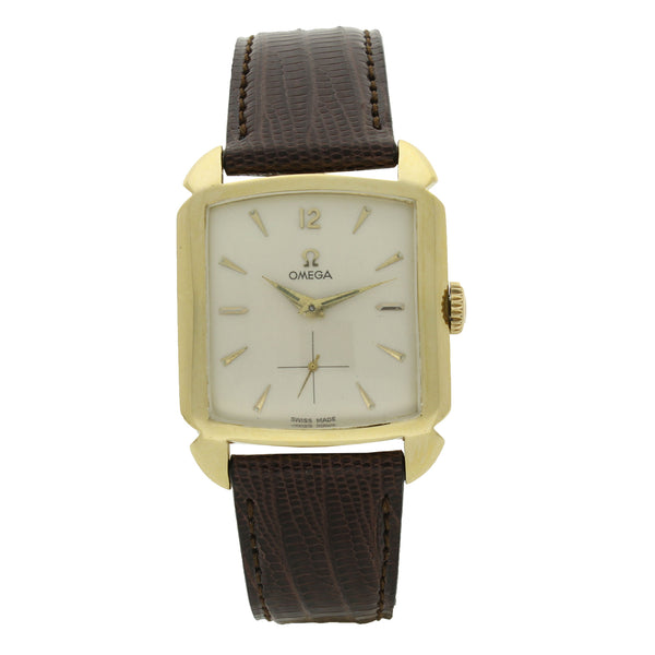 1952 18ct yellow gold Carré wristwatch by OMEGA