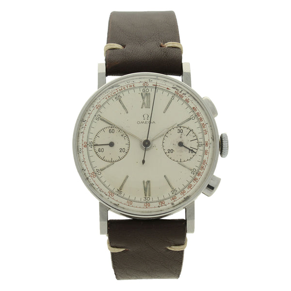 1935 Stainless steel chronograph wristwatch by OMEGA