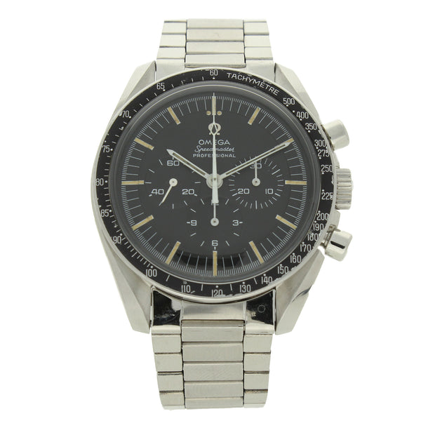 1969 Stainless steel Speedmaster Ref: 145.022 'Transitional' wristwatch by OMEGA