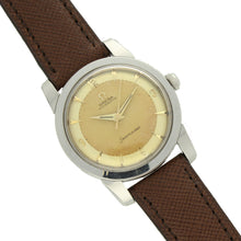 Load image into Gallery viewer, Stainless steel Seamaster 'Bumper' automatic wristwatch. Made 1955