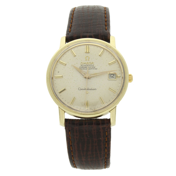 1967 14ct Yellow gold capped OMEGA Constellation with date