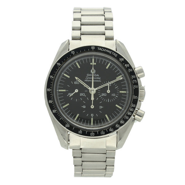 1971 Stainless steel Speedmaster Ref: 145.022 on steel bracelet by OMEGA