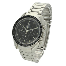 Load image into Gallery viewer, Stainless steel Speedmaster Professional chronograph wristwatch. Made 1971
