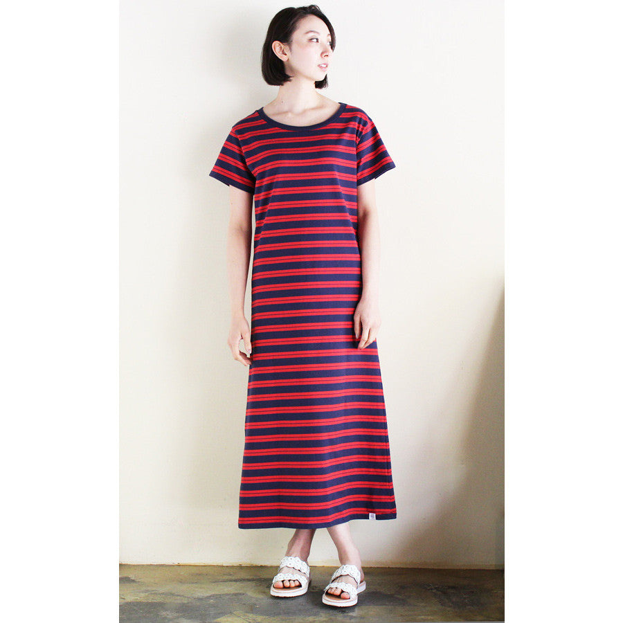 "Bedwin & The Heartbreakers -S/S OG BORDER DRESS  ""DIANA"""