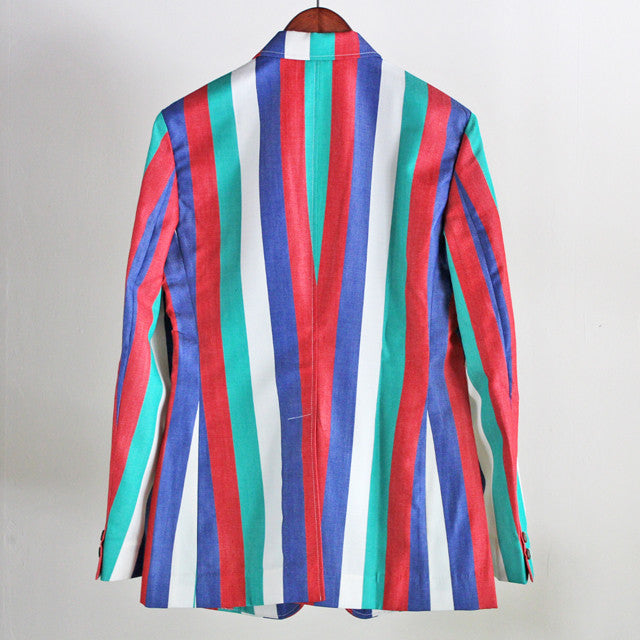 Beggars Run - RGB STRIPED WOOL JACKET
