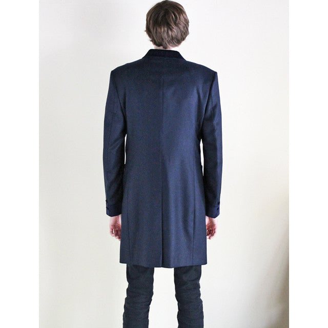 Beggars Run - CHESTERFIELD COAT (NAVY)