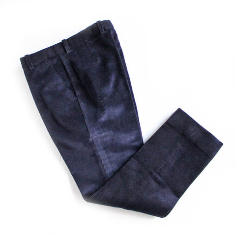 Beggars Run - WALE NEEDLECORD CORDUROY TROUSER (navy)