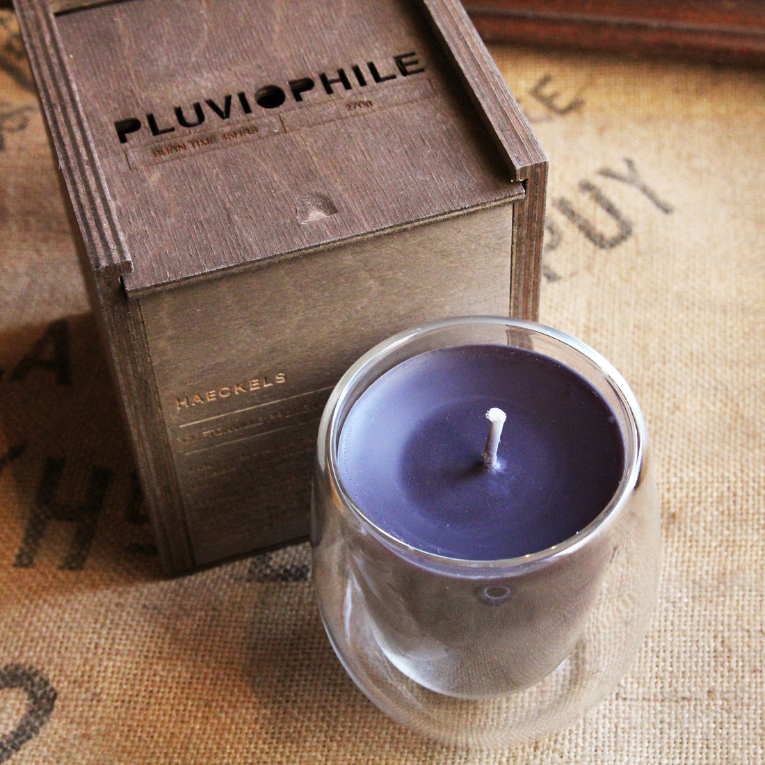 Haeckels - Pluviophile Rain Candle