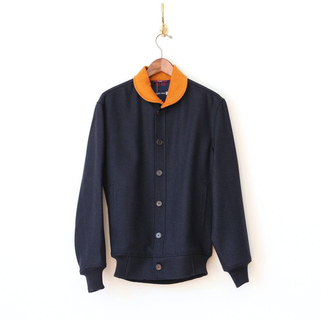 Beggars Run - Corsair Wool Bomber (navy)