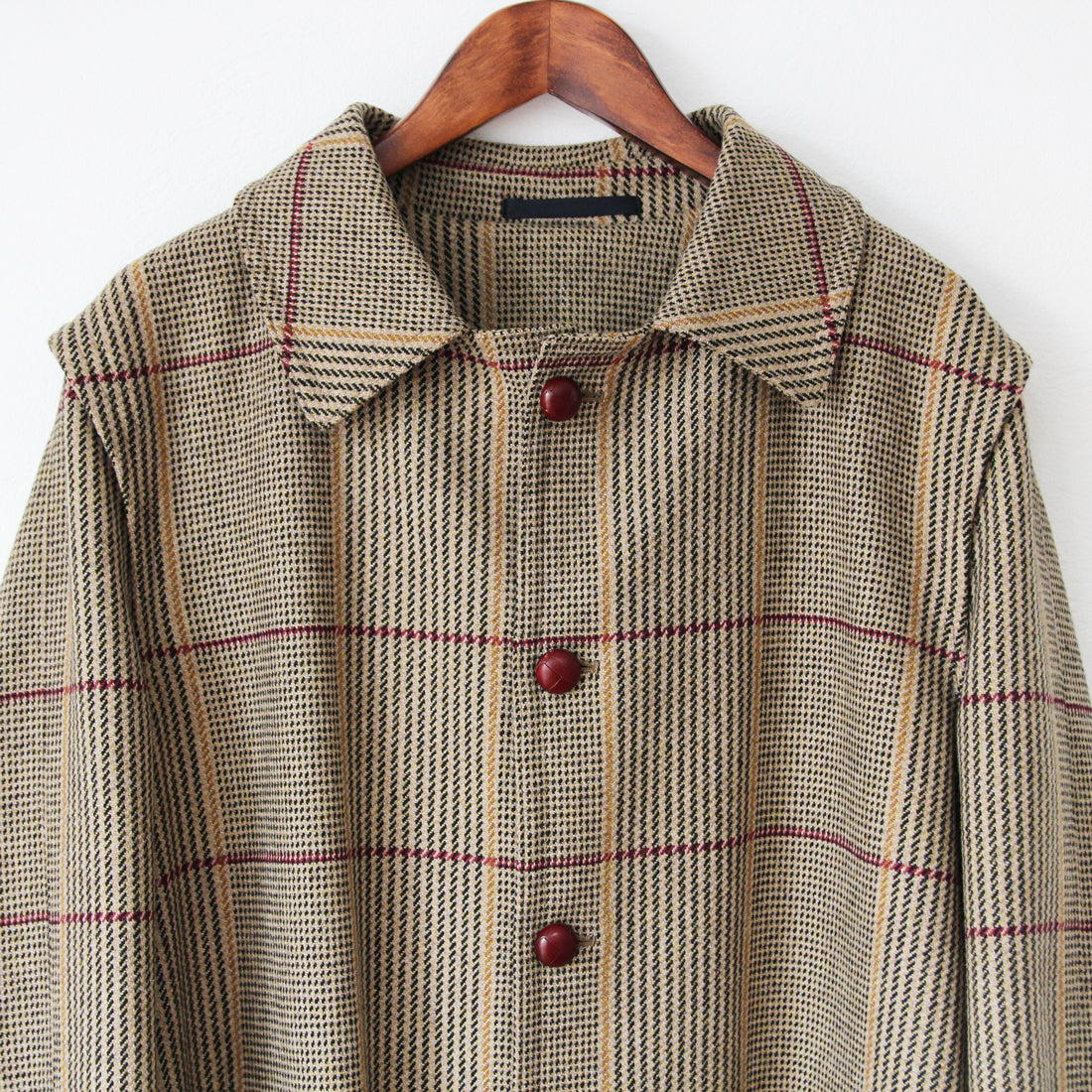 Beggars Run - Heritage Check Over Coat