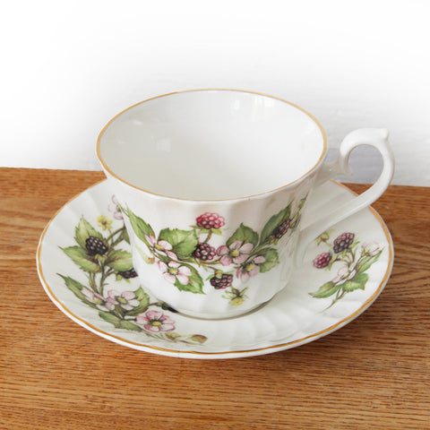 Royal Ascot Bone China Tea Cup & Saucer TWO SET