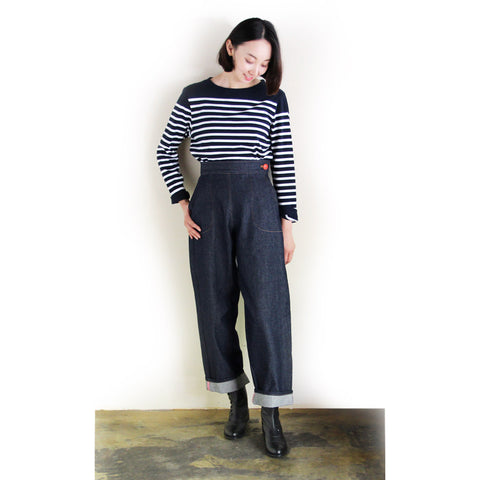 GOLDEN NEEDLE LONDON - Wide Denim Trouser / デニムワイドパンツ