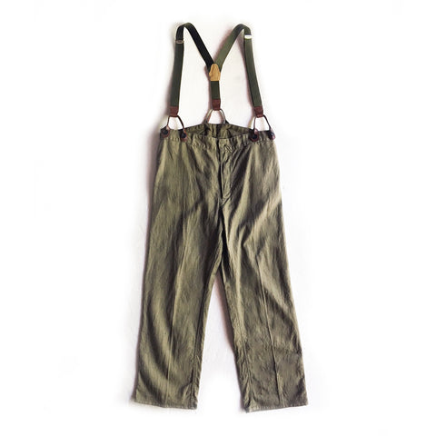 Maison de Li:lys by YU:YU - Dead-Stock East Germany Cock Pant (Kahki)