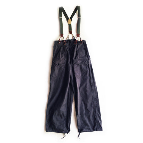 Maison de Li:lys by YU:YU - Dead-Stock French Military Pant (charcoal)