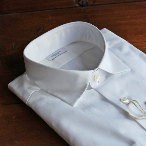 A SOCIALIST - Dress Shirt / WIDE SPREAD COLLAR