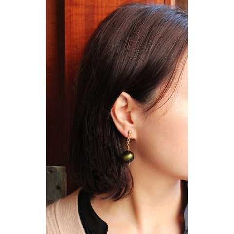 WISTERIA - Wood Ball Pierce (Green)