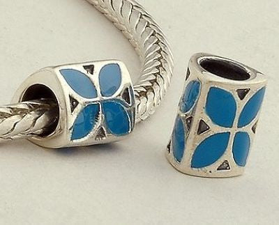 Pendant - Blue Flower