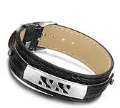 Boys Leather Bracelet - Waves