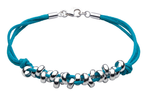 Dew - Blue Pebble Bracelet