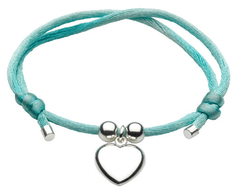 Dew - Green Adjustable Heart Bracelet
