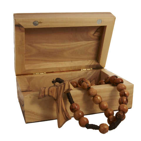 Olive Wood Box Gift set