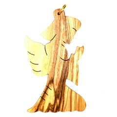 Olive Wood Christmas Decoration - ANGEL (A)