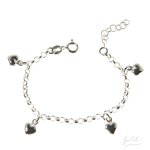 Baby Heart Dangle Bracelet